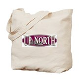 Up North Snowmobiler Tote Bag