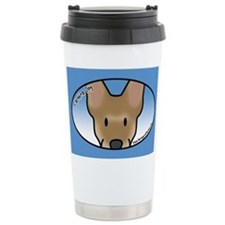 Anime Carolina Dog Ceramic Travel Mug