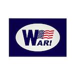 W-AR! Rectangle Magnet