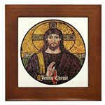 Jesus Christ Framed Tile