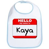Hello my name is Kaya Bib