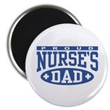 Proud Nurse's Dad Magnet