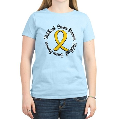 Childhood Cancer Hope Women's Light T-Shirt