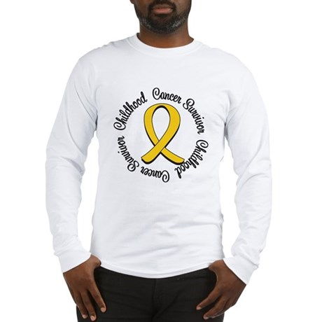 Childhood Cancer Hope Long Sleeve T-Shirt