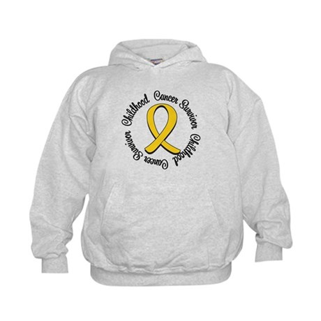 Childhood Cancer Hope Kids Hoodie