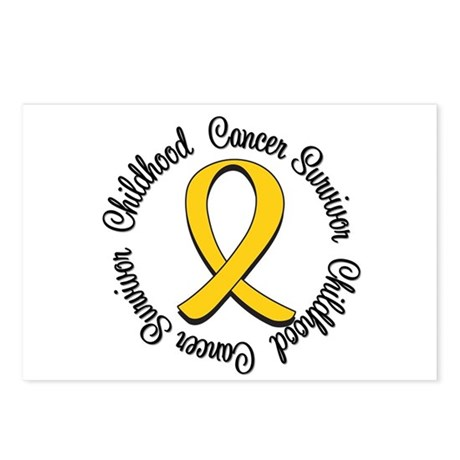 Childhood Cancer Hope Postcards (Package of 8)