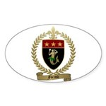 FORAND Family Crest Oval Sticker