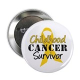 "Childhood Cancer Survivor 2.25"" Button (10 pack)"