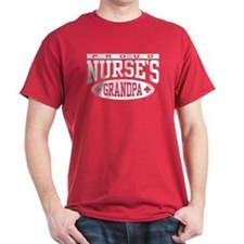 Proud Nurse's Grandpa T-Shirt