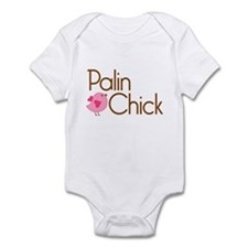 Palin Chick Brown Infant Bodysuit