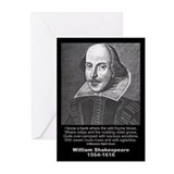 William Shakespeare Quote Greeting Cards (Pk of 10