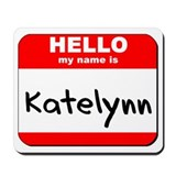 Hello my name is Katelynn Mousepad