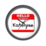 Hello my name is Katelynn Wall Clock