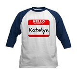 Hello my name is Katelyn Tee
