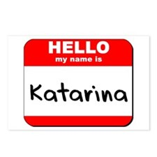 Hello my name is Katarina Postcards (Package of 8)