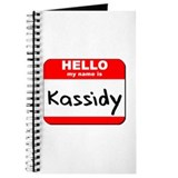 Hello my name is Kassidy Journal