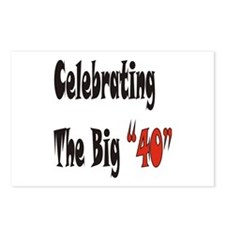 "The Big ""40"" Postcards (Package of 8)"