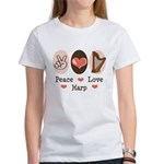 Peace Love Harp Women's T-Shirt