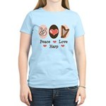 Peace Love Harp Women's Light T-Shirt