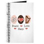 Peace Love Harp Journal