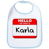 Hello my name is Karla Bib