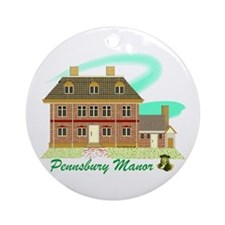 Pennsbury Manor Keepsake (Round)