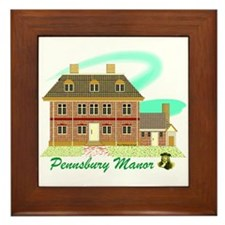 Pennsbury Manor Framed Tile