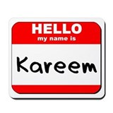 Hello my name is Kareem Mousepad