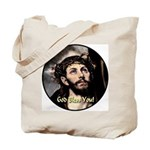 God Bless You! Tote Bag