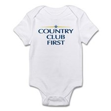 Country Club First Infant Bodysuit