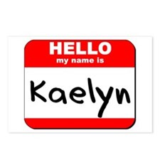 Hello my name is Kaelyn Postcards (Package of 8)