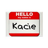 Hello my name is Kacie Rectangle Magnet