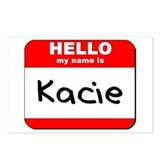 Hello my name is Kacie Postcards (Package of 8)