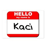 Hello my name is Kaci Postcards (Package of 8)