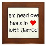 Unique I heart jarrod Framed Tile