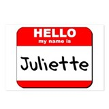 Hello my name is Juliette Postcards (Package of 8)