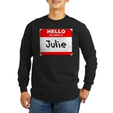 Hello my name is Julie T