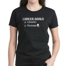 Librarian Career Goals - Rockstar Tee