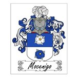 Mocenigo Family Crest Small Poster