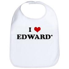I Love EDWARD* Bib
