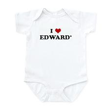 I Love EDWARD* Infant Bodysuit