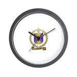 DUPRAT Family Crest Wall Clock