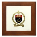 DUMONT Family Crest Framed Tile