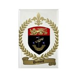 DUMONT Family Crest Rectangle Magnet