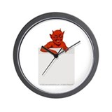 Devil in my Pocket Wall Clock