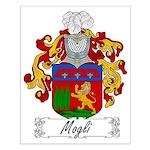Mogli Family Crest Small Poster