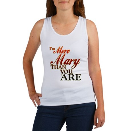 More Mary Women's Tank Top