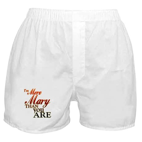 More Mary Boxer Shorts