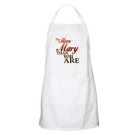 More Mary BBQ Apron