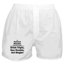 Funeral Director Boxer Shorts